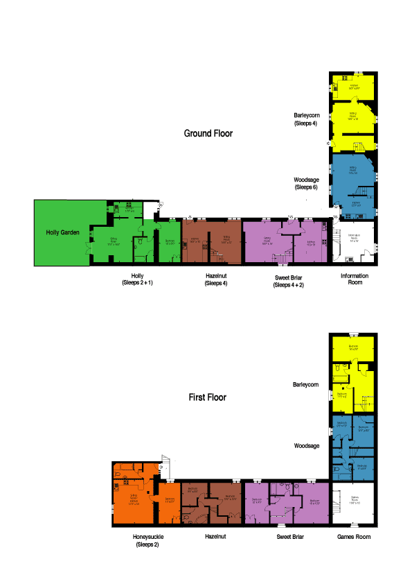 Sutton Court Farm Ludlow Floor Plan