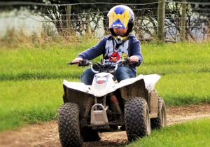 Quad Biking at the Edge Centre