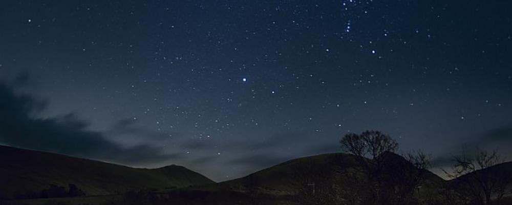 Dark Skies and Stargazing in the Shropshire Hills