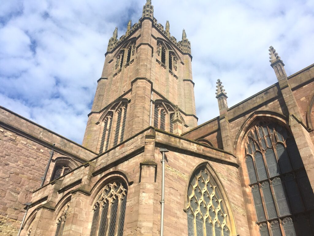 St Laurence's Church Ludlow