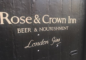 Rose And Crown Ludlow